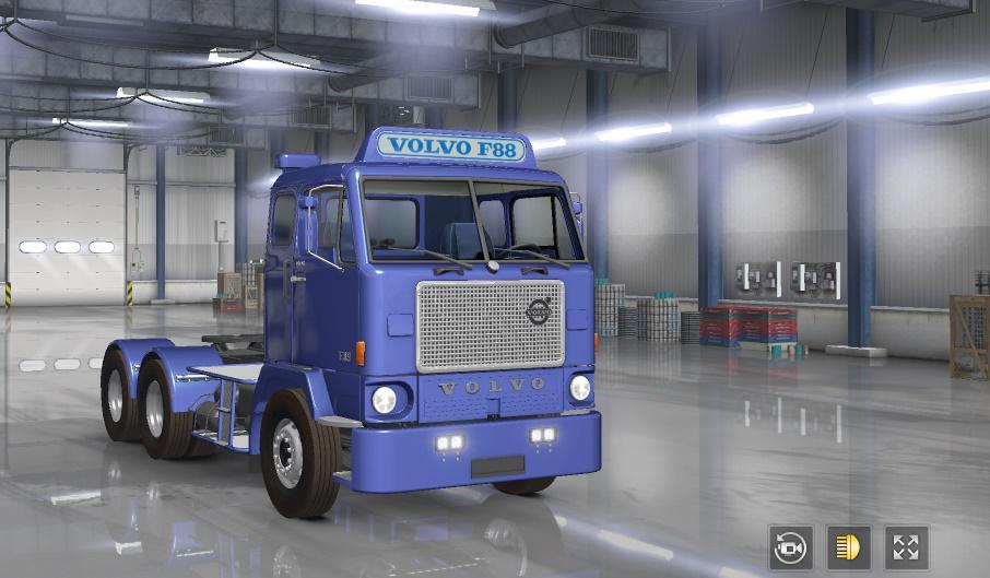ETS2 - Volvo F88 Truck (1.36.x)