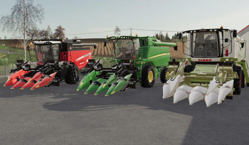 FS19 - Corn Headers Pack 6Row V1.0