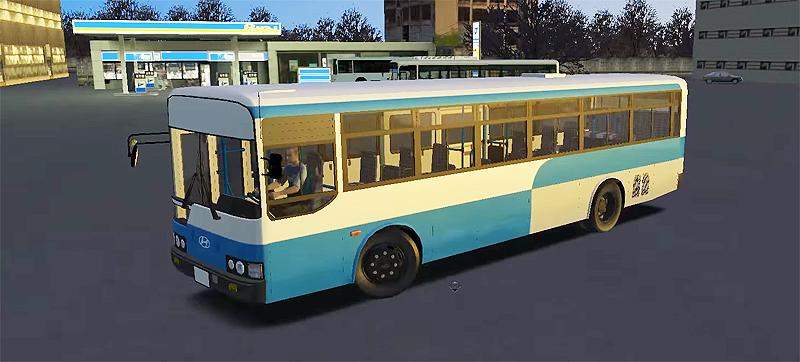 Omsi 2 – Hyundai Super AeroCity 2006 Bus