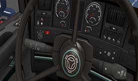 ETS2 - Scania RJL interior (1.38 - 1.39)