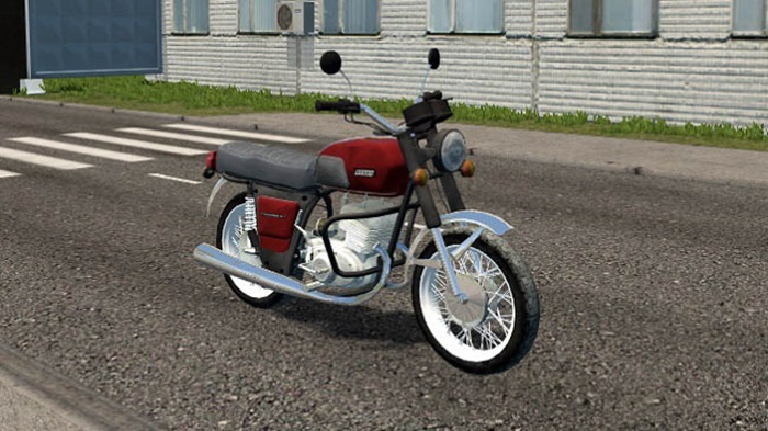 City Car Driving 1.5.9 – IZH Jupiter 5 Motorcycle