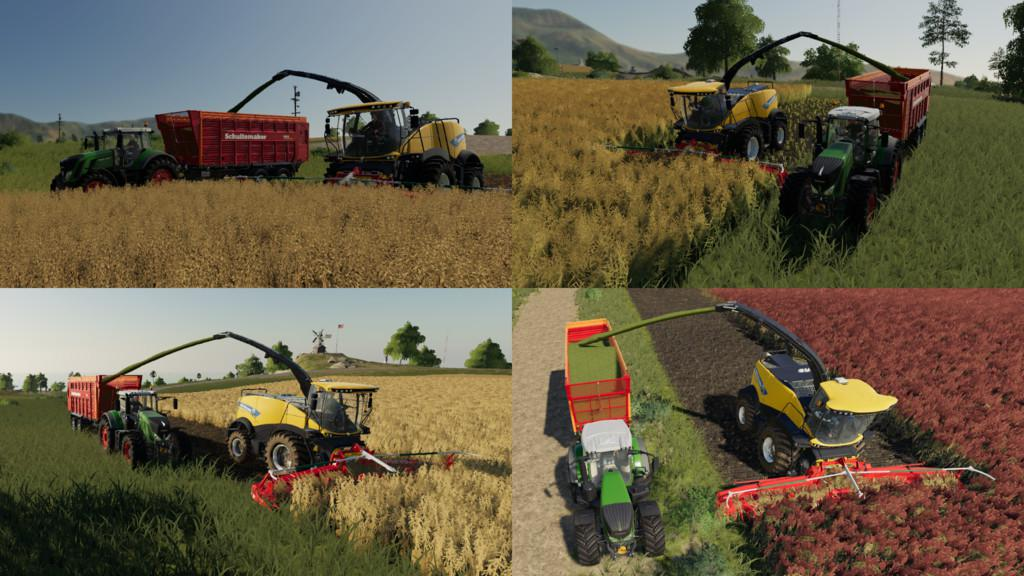 FS19 - Multi Harvest Headers V1.0