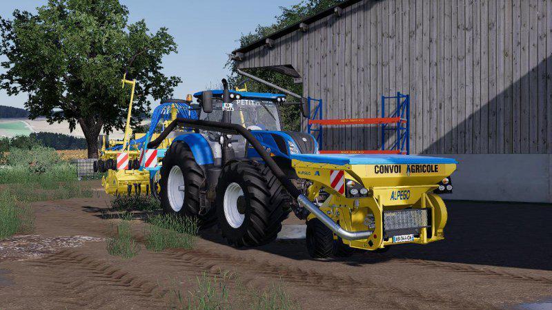 FS19 - New Holland T7 SWB Tractor V1.0