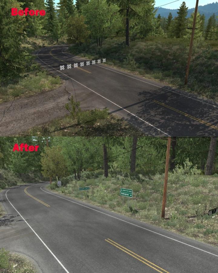 ATS - SCS Map improvements V1.1.260 (1.40.x)