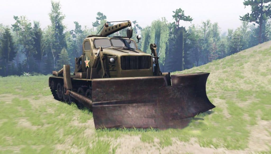 Spintires:Mudrunner - Engine Sounds BAT-M V1.0
