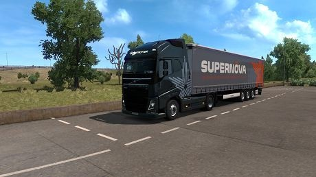 ETS2 - Volvo Supernova Combo Skin (1.36.x)