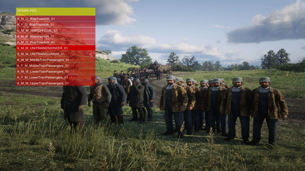 Red Dead Redemption 2 - ScriptHook
