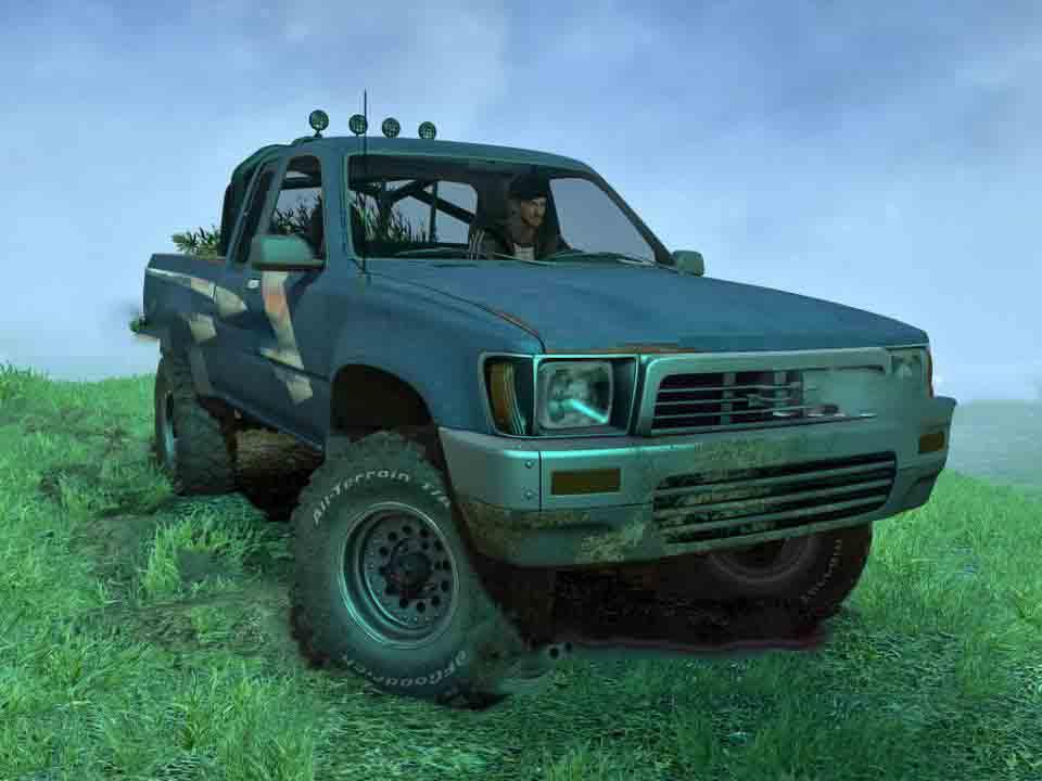 Spintires:Mudrunner - 1989 Toyota Hilux 4x4 V1.0