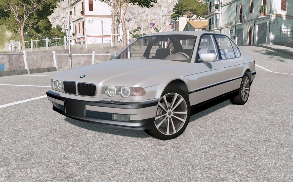 BeamNG - Bmw 750iL (E38) 1999 Car Mod