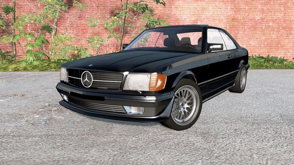 BeamNG - Mercedes-Benz 560 SEC AMG (C126) 1989