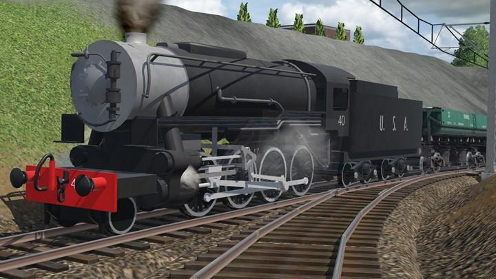 Transport Fever 2 - USA S160 2-8-0