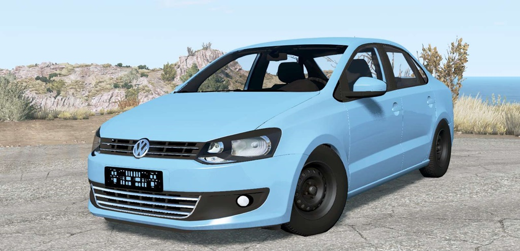 BeamNG - Volkswagen Polo Sedan (Typ 6R) 2011 Car Mod