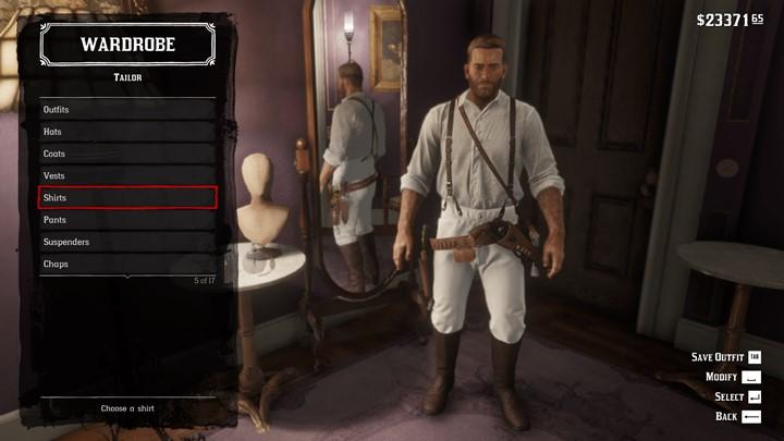 RDR2 - Clean White Pants