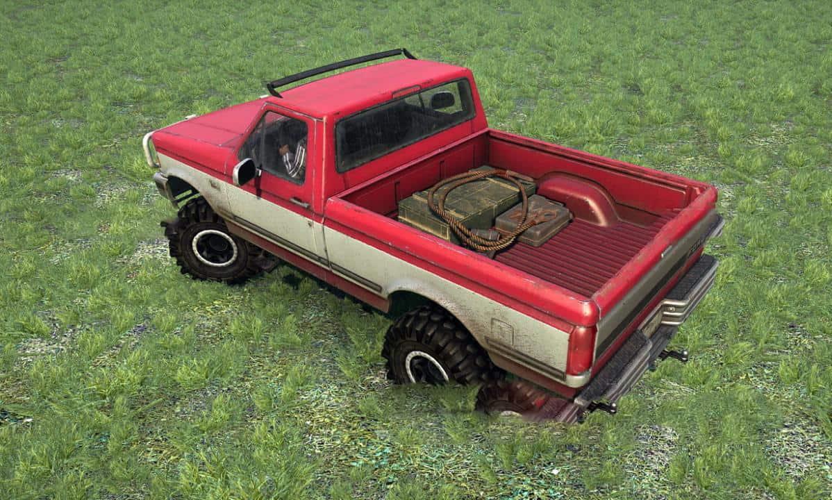 Spintires:Mudrunner - 1992 Ford F150 Ol Red MkII V1.0