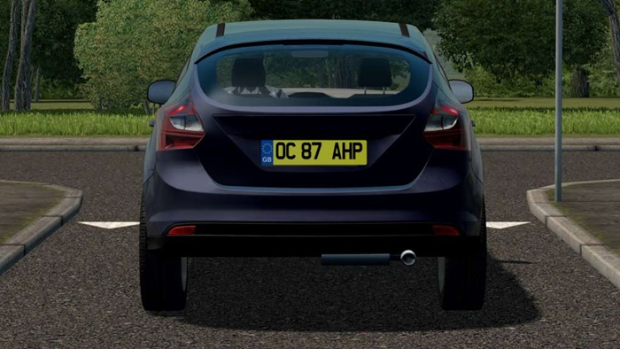 City Car Driving 1.5.9 – GB Number Plate