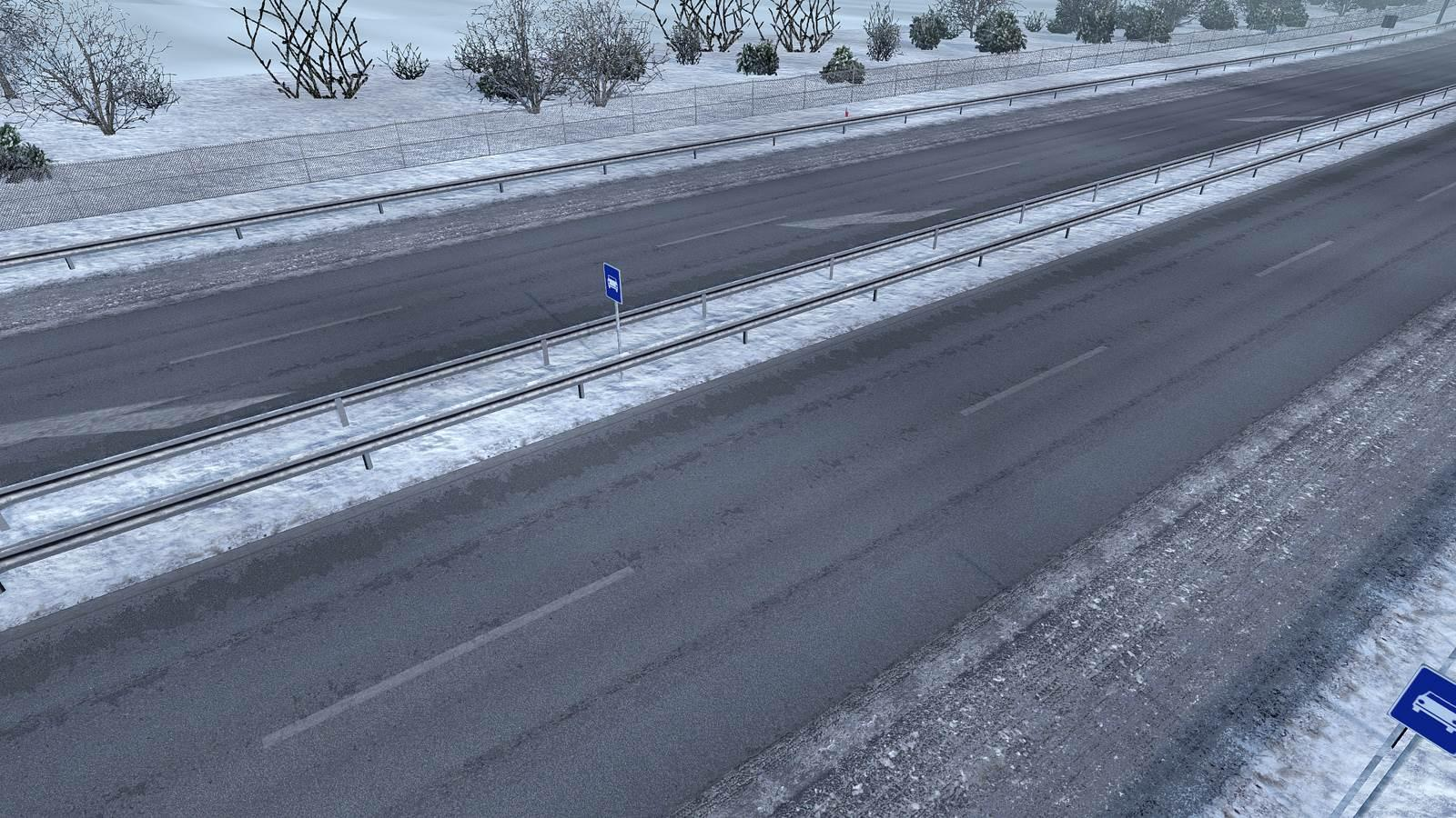ETS2 - Project NG Frosty Winter Addon (1.39.x)