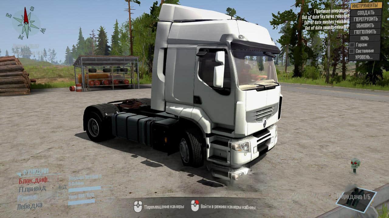 Spintires:Mudrunner - Renault Premium Truck V1.1