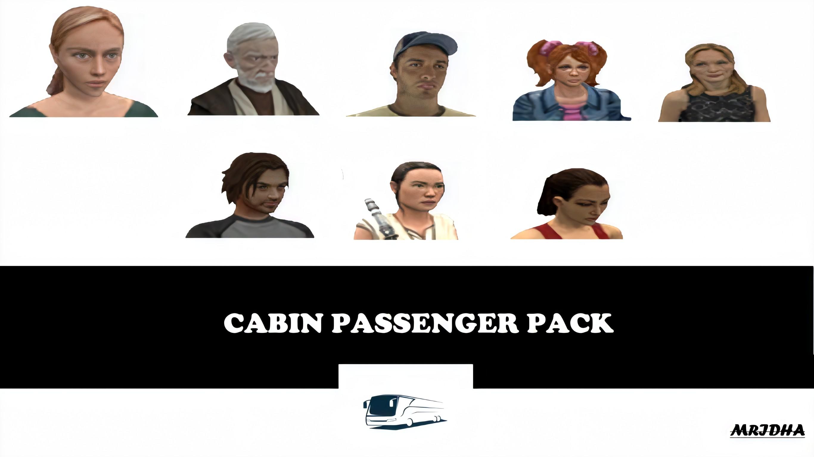 ETS2 - Cabin Passenger Pack (1.36.x)