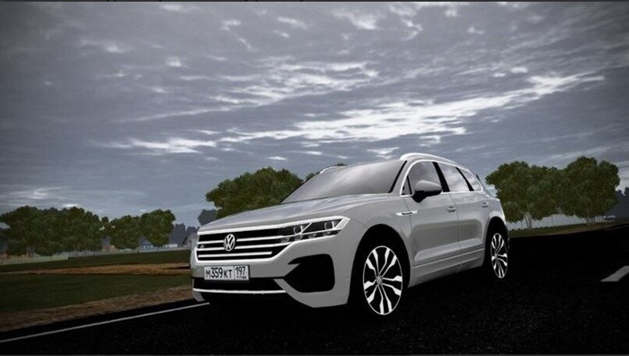 City Car Driving 1.5.9 – Volkswagen Touareg 2019 TDI R-Line