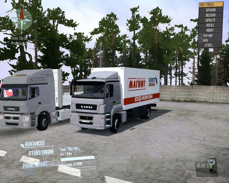 Spintires:Mudrunner - Kamaz-5325 Truck V2.0