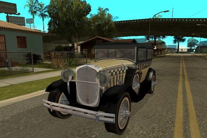 Mafia 2 – Falconer Yellowcar Taxi