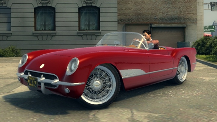 Mafia 2 – Chevrolet Corvette 1953