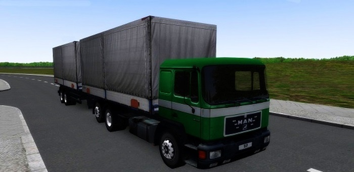 Omsi 2 – Man F90 & Mercedes Benz 814 Traffic Mod