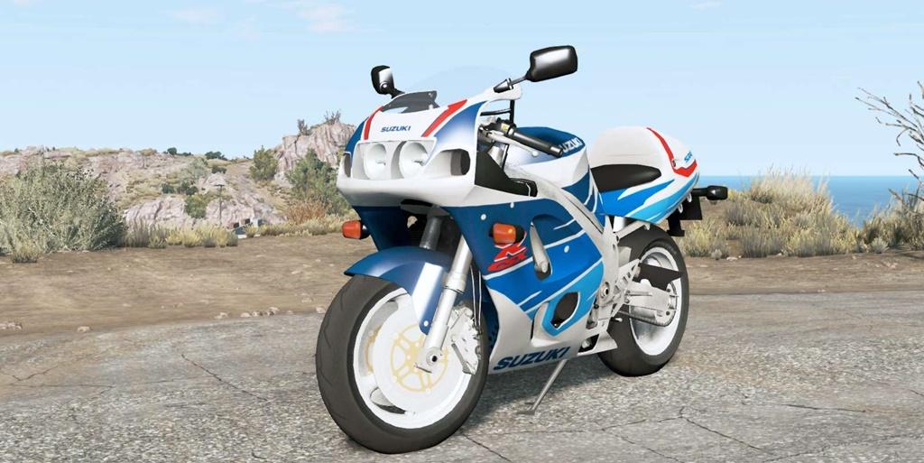 BeamNG - Suzuki GSX-R750 Motorcycle Mod