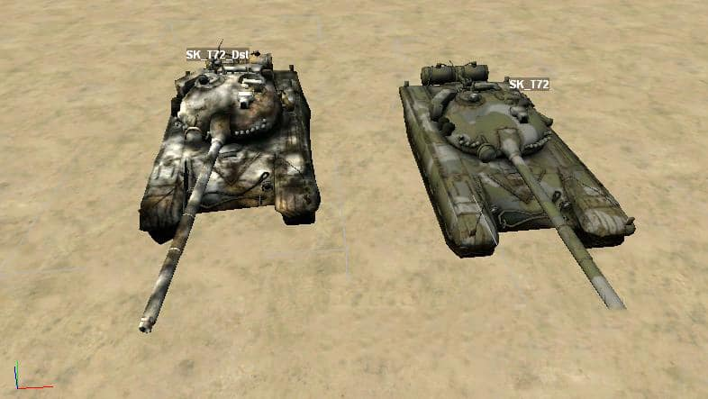 Spintires - Static Object T-72 for The Map Editor V1.0