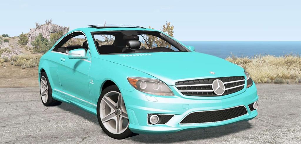 BeamNG – Mercedes-Benz CL 65 AMG (C216) 2007 Car Mod