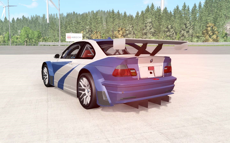 BeamNG - BMW M3 GTR (E46) NFS MW Edition | BeamNG Drive ...