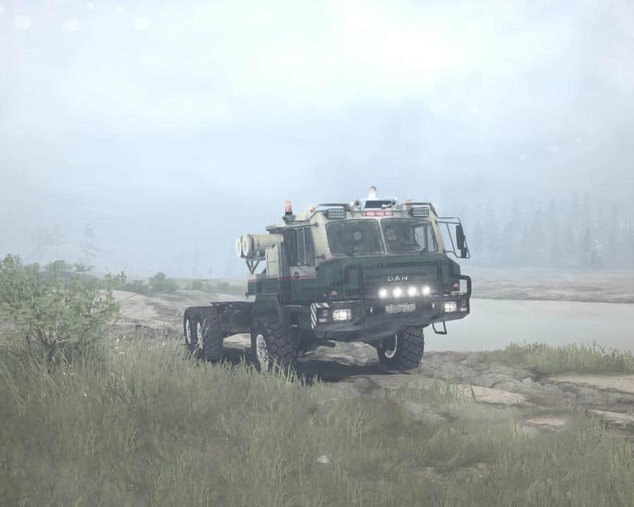 Spintires:Mudrunner - Dan 96320 (Baz-69092) Truck V1.01