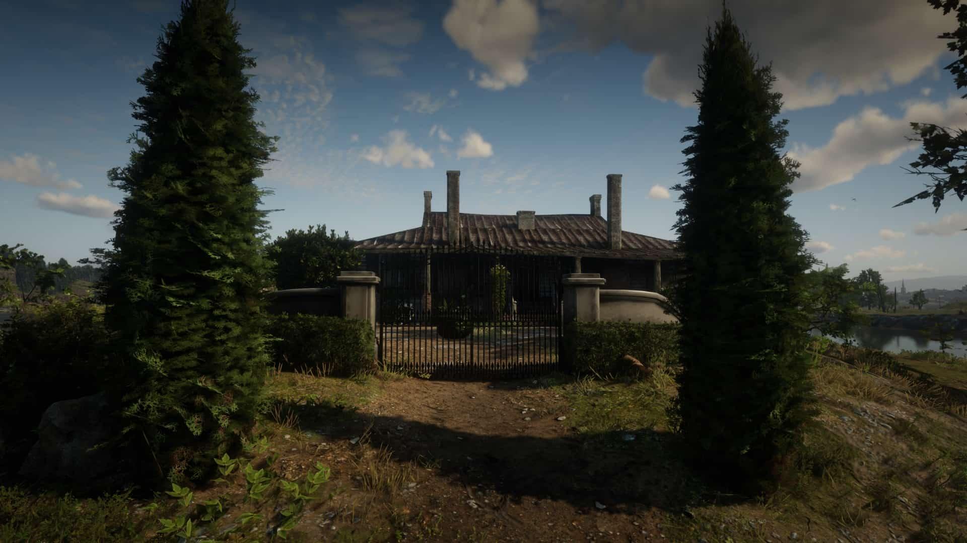 RDR2 - Van Horn Mansion Fully Restored