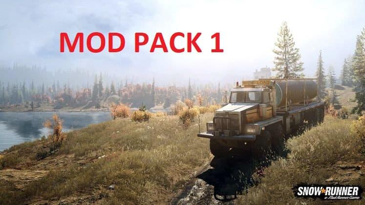 SnowRunner - Mod Pack 1