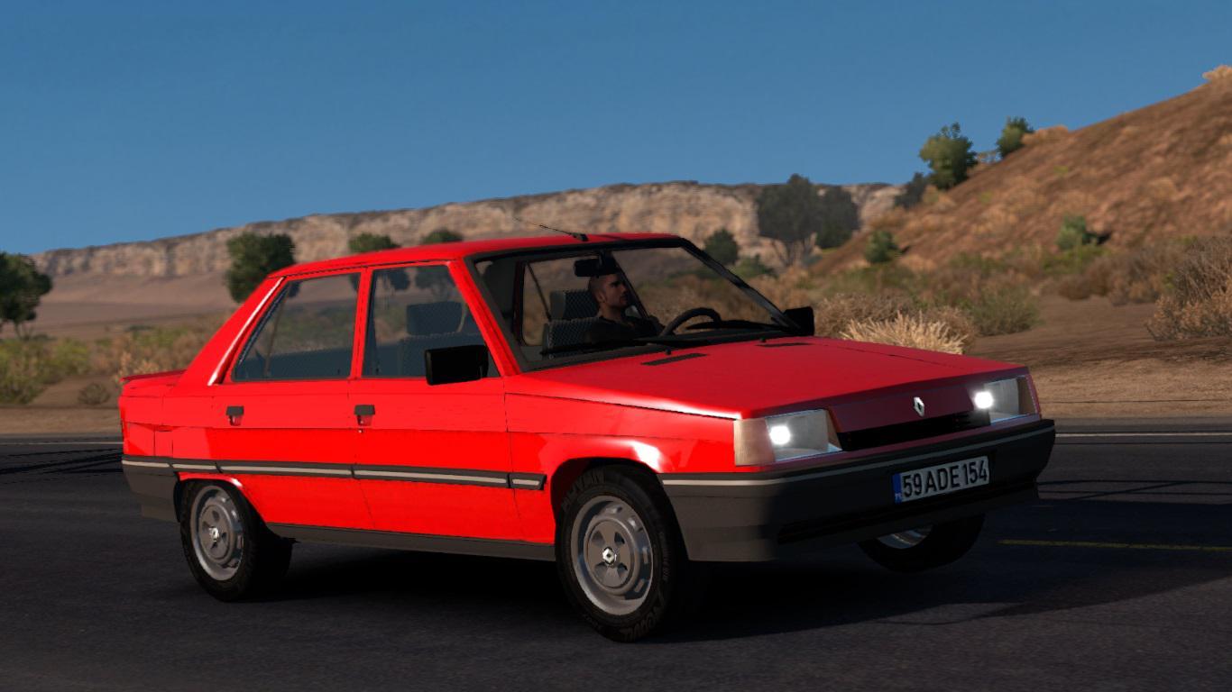 ATS - Renault 9 Car Mod (1.35.X)