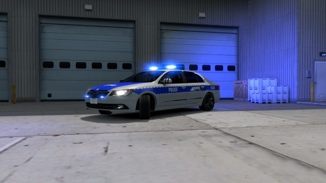 ATS - Skoda Superb Car Mod (1.35.x)
