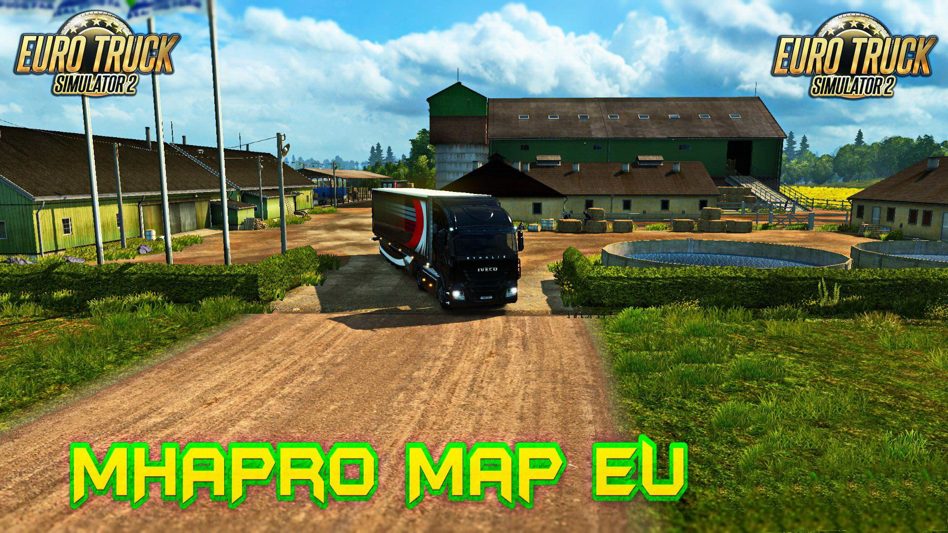 ETS2 - MHAPro Map (1.37.x)