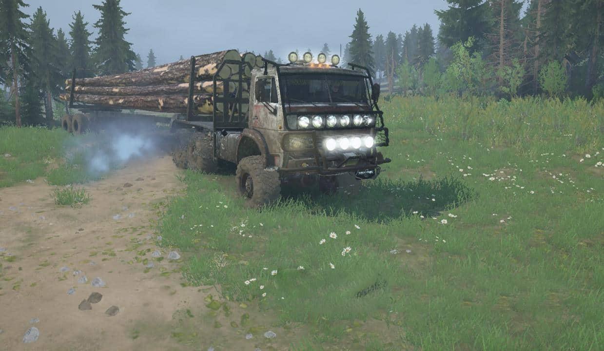 Spintires:Mudrunner - Type C-4310 Truck V29.03.20