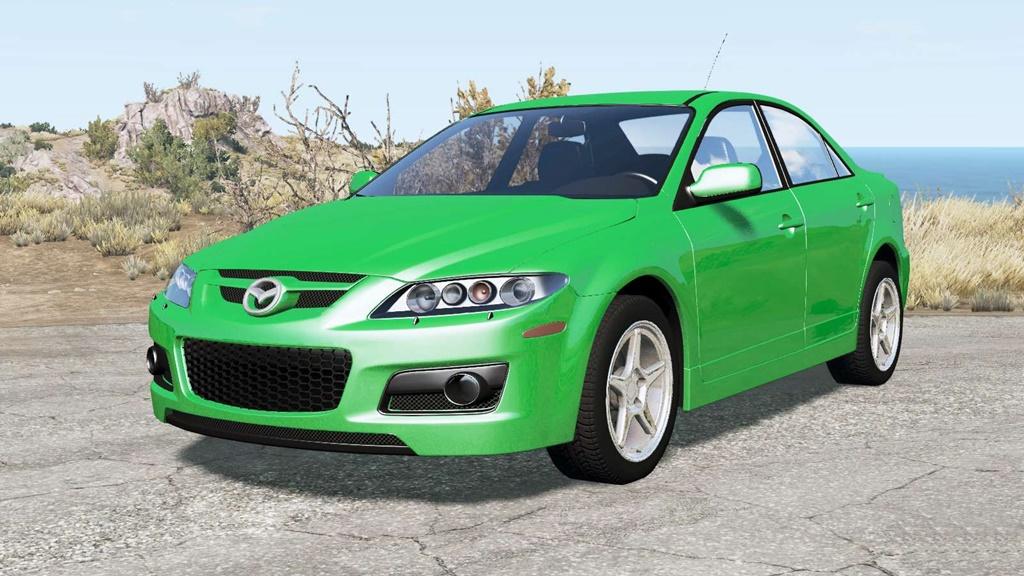 BeamNG - Mazda 6 MPS (GG) 2005 Car Mod