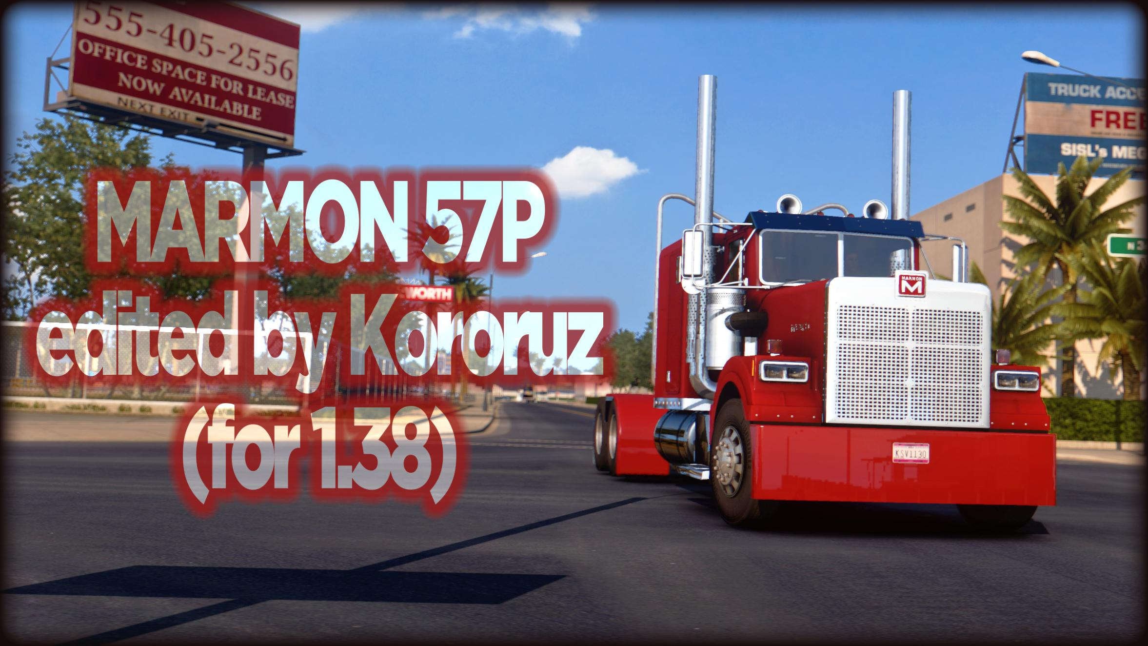 ATS - Marmon 57P Truck V0.99 (1.38.x)
