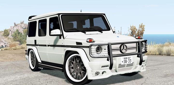 BeamNG - Mercedes-Benz G 65 AMG (W463)