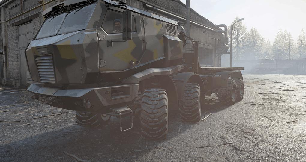 SnowRunner - Azov XE 5319 Truck V1.0