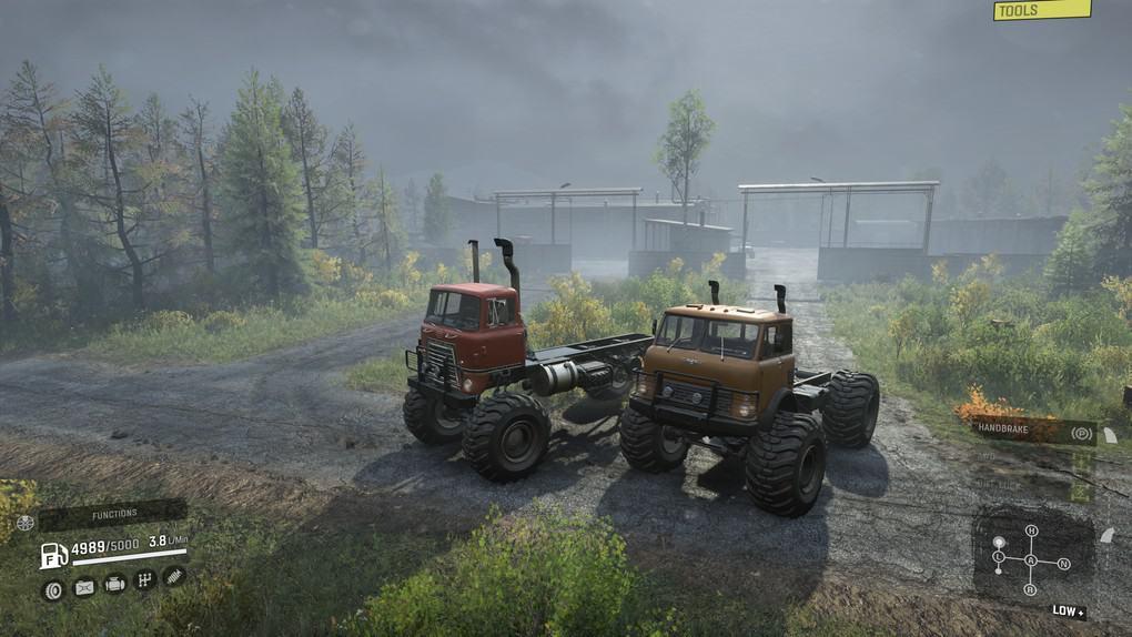 SnowRunner - Ogre 350 Truck V1.0
