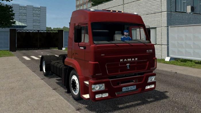 City Car Driving 1.5.9 – Kamaz 5460 Truck
