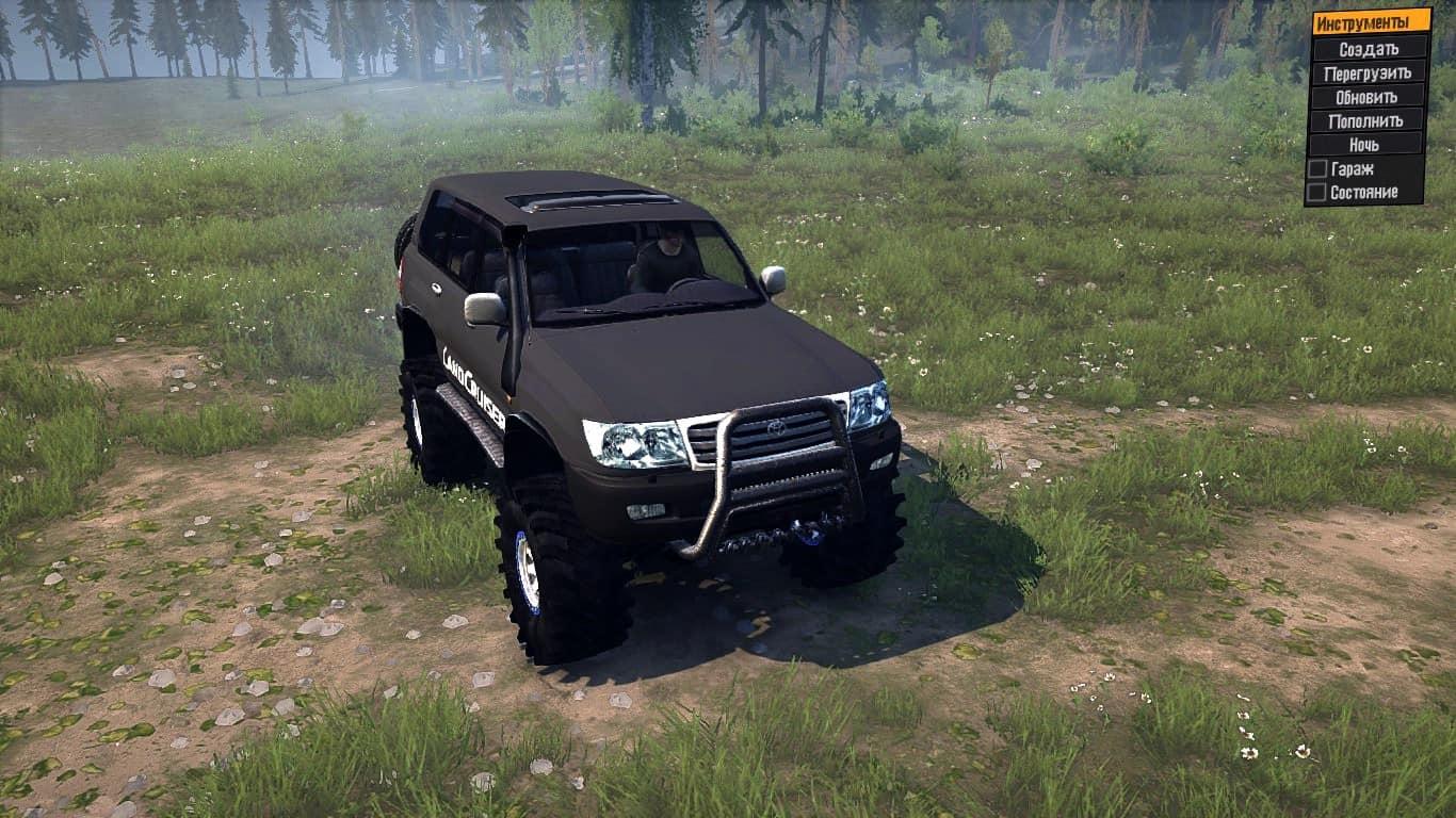 Spintires:Mudrunner - Toyota Land Cruiser 105 GX