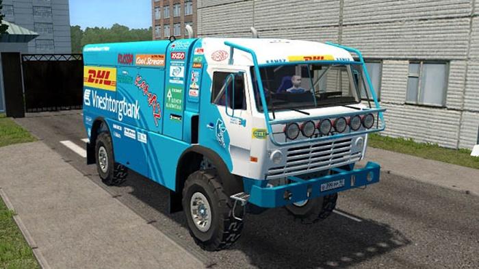 City Car Driving 1.5.9 – KamAZ 4911 Rally Master