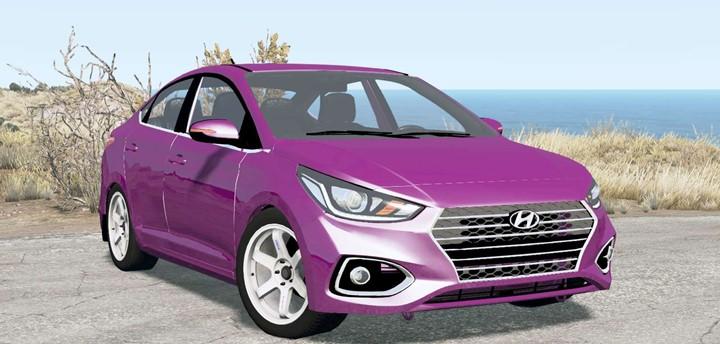 BeamNG - Hyundai Solaris (HCR) 2018 Car Mod