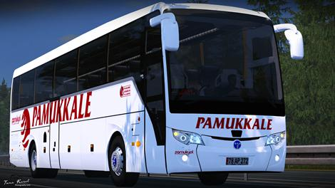 ETS2 - Temsa Safir Plus Euro 6 Bus (1.36.x)