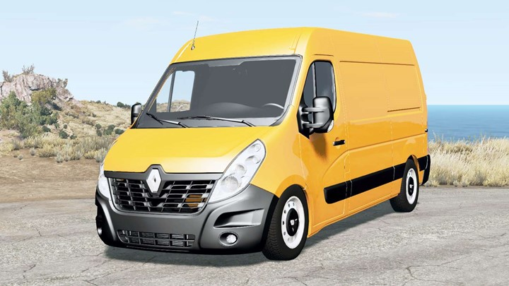 BeamNG – Renault Master L2H2 Van 2018