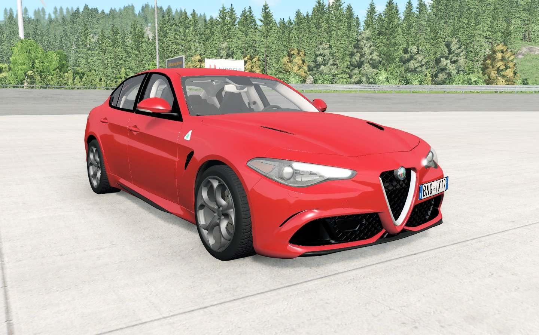 BeamNG - Alfa Romeo Giulia Quadrifoglio (952) Car Mod